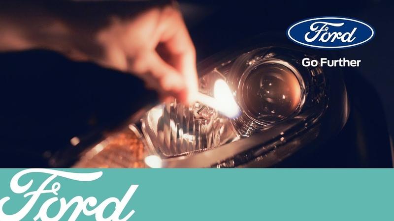 Как поменять лампу в передней фаре   Ford Russia