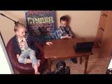 Пермские дети пародируют Вечерний Ургант.