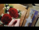 1 PAINTING TUTORIAL. Розы One stroke Draw with me