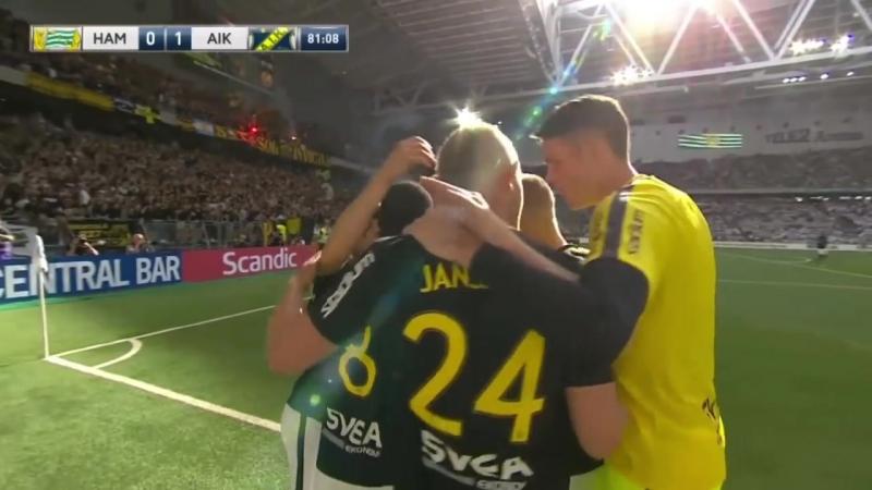 Allsvenskan 2018 Hammarby 0 1 AIK