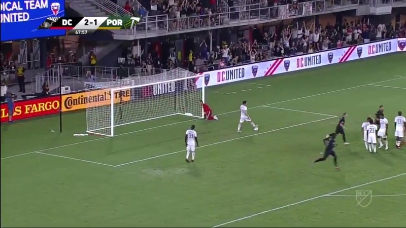 Очередной гол Уэйна Руни в MLS