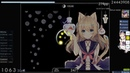 Osu! | Cookiezi | Nanahira - Petals [Fluorescence] | HD 99.94% FC 1 | 327pp