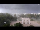 Шквалистый ветер в Порту Алегри Бразилия Thunderstorm in Porto Alegre Brazil