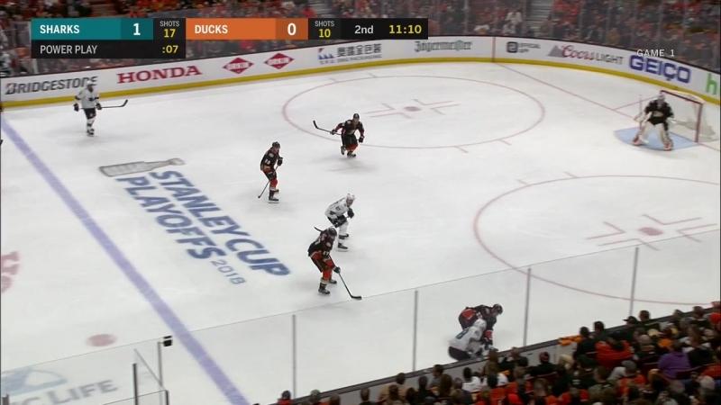 San Jose Sharks vs Anaheim Ducks 12 04 2018 Round 1 Game 1 NHL Stanley Cup Playoffs 2018