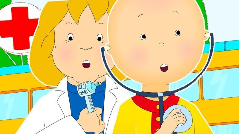 Caillou en Français | Caillou Visite le Docteur | dessin animé | dessin animé pour bébé | NOUVEAU