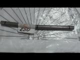 Калибровка прутка ж.х на 250кг в длине 155мм и диаметром 10мм для Сергея бэндера