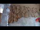 Мастер класс нанесения штукатурного раствора на стенку