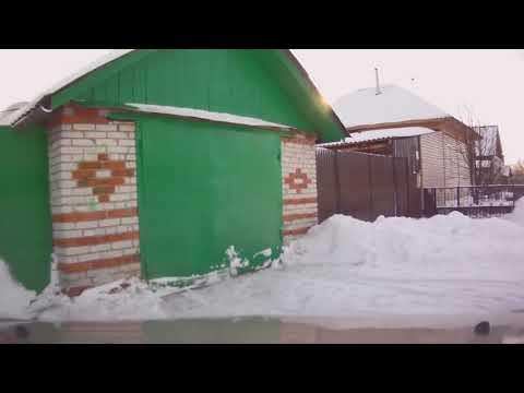 Прогулка по селу Глядянское в канун 2012 года