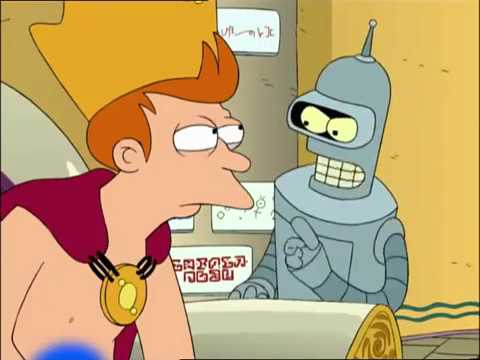 [ Futurama ] ▶ Bender - You're a pimple on society's ass, and you'll never amount to anything!