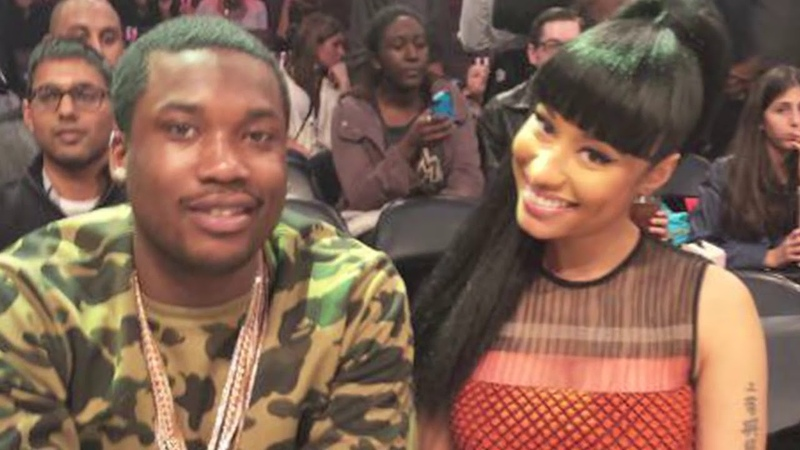 Nicki Minaj Meek Mill Kisses 'All Eyes On You' Music Video