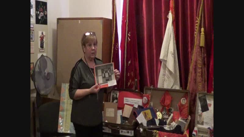 Основатель Ропшинского школьного музея, декабрь 2017г