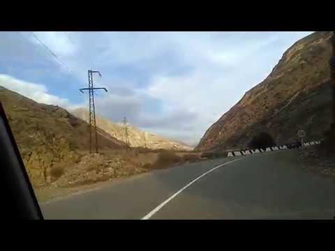 3 Красивые участки дороги Ботлих-Махачкала, ноябрь 2018 | туризм в Дагестане