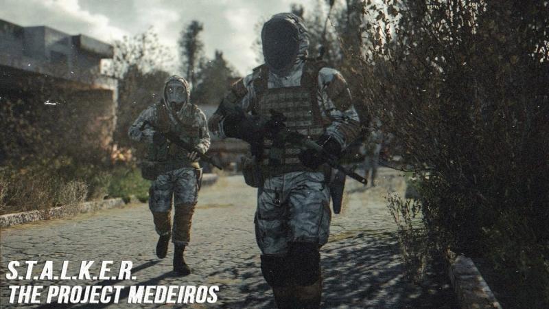 S.T.A.L.K.E.R. The project Medeiros 3. Ищу запечатки