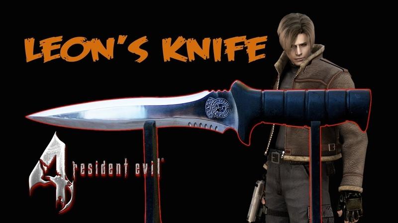 Fiz a faca do Leon - Resident Evil 4 - Leon's Knife