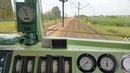 Dynamiczny rozruch pociągu na EU07 - ucieczka przed pospiesznym