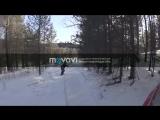 Зима мопед и сноуборд.mp4