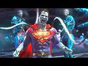 Injustice 2 - All Super Moves on Bizarro (1080p 60FPS)