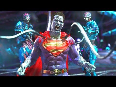 Injustice 2 - All Super Moves on Bizarro (1080p 60FPS)