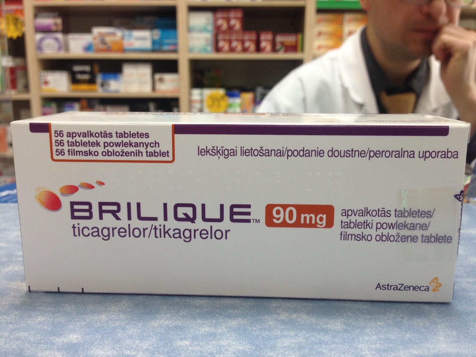 Брилинта — показания к применению препарата и терапевтическое действие