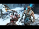God of War 4 2018 Magni and Modi No Damage Boss Fight Walkthrough Part 38 PS4 PRO