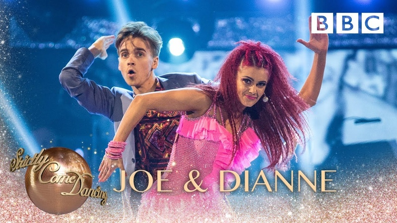 Joe Sugg Dianne Buswell dance the Jive to Take On Me by A-Ha - BBC Strictly 2018