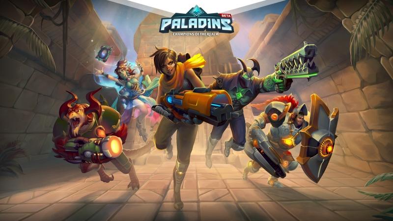 Paladins tournament new league 1/5 finals, 23 февраля в 19:01 [по МСК]
