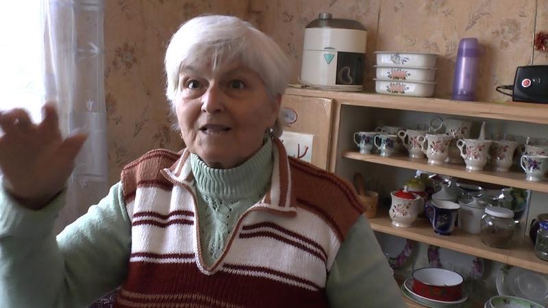 Помощь беженке с Красногоровки от жительницы России