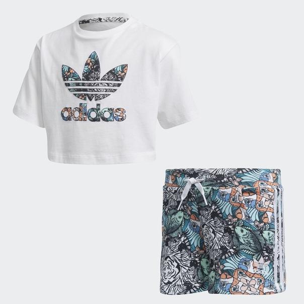 Комплект: футболка и шорты Zoo