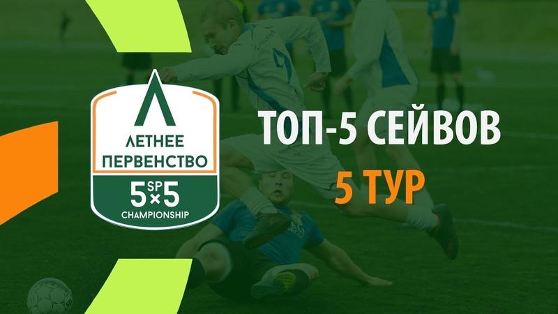 ТОП-5 Сейвов. 5 Тур - Летнее Первенство