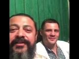 Василий Жадан и Денис Беринчик в Сумах