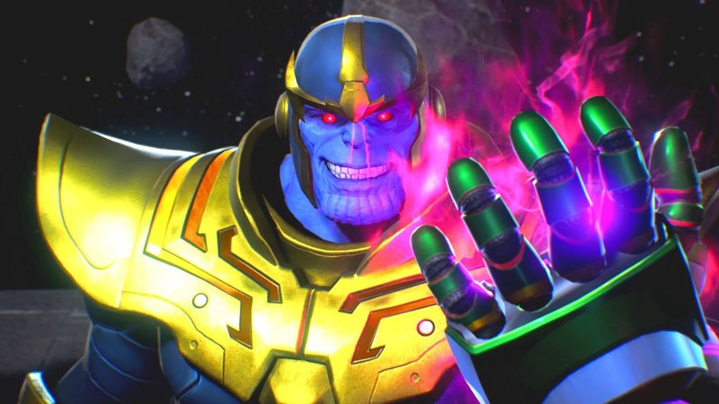 Thanos steals the Satsui no Hado from Ryu Pays Death a Visit | Marvel vs Capcom Infinite