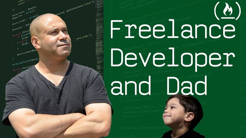 Day in the life of a freelance web developer and dad (w/ freelancing tips)
