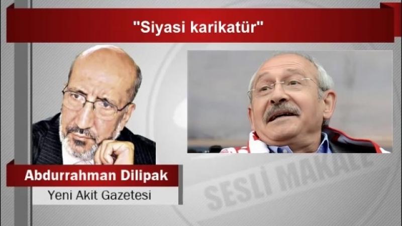 """Abdurrahman Dilipak """"Siyasi karikatür"""""""