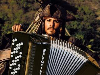 БАЯН НА БАЯНЕ - Главная тема из Пираты Карибского моря