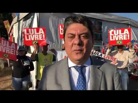 Agora: Wadih Damous sai de visita a Lula e trás firme recado do mesmo, assistam.