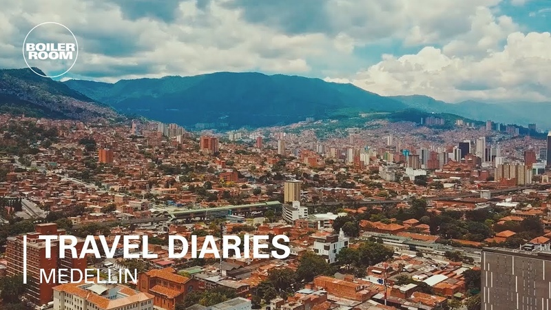 Jay Daniel Discwoman's Frankie explore the sights sounds of Medellin | Boiler Room x Hostelworld
