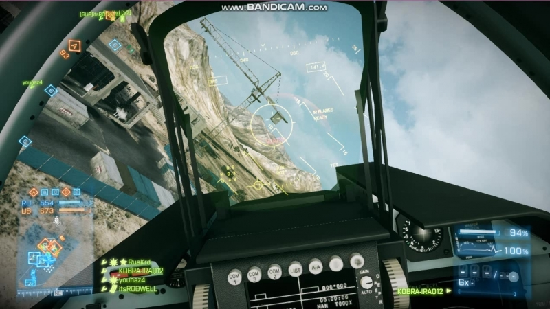 Типичный лётчик в Battlefield 3