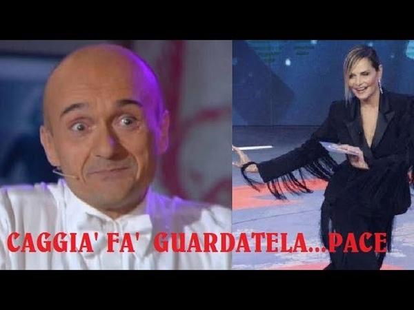 STORICA SIMONA VENTURA E ALFONSO SIGNORINI PACE FATTA: Tante polemiche e risentimenti ma adesso...