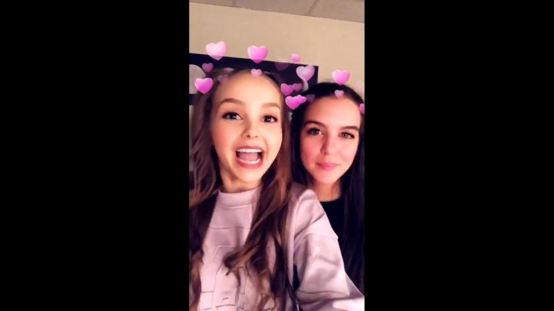 Личное видео Лилимар и Саванны Мэй.