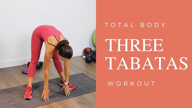 TABATA WORKOUT FEATURING MINIBANDS/GLIDERS/DUMBBELLS