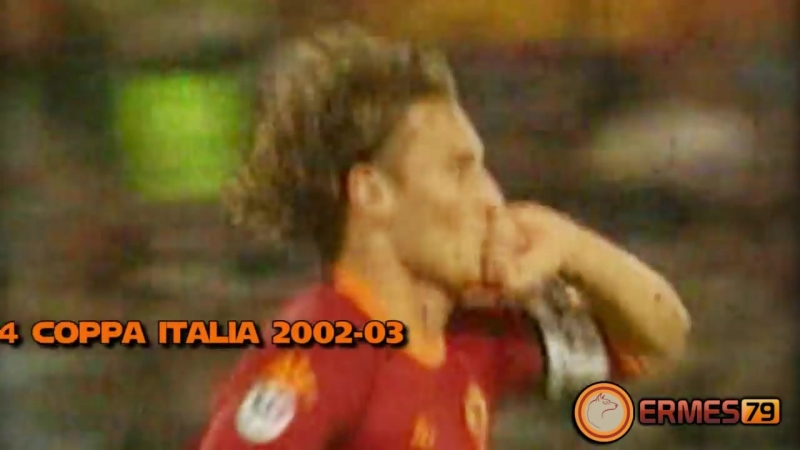 ROMA VS Milan _ TOTTI gol
