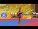 ЧМ 2018. Командное многоборье. Александра Солдатова - мяч