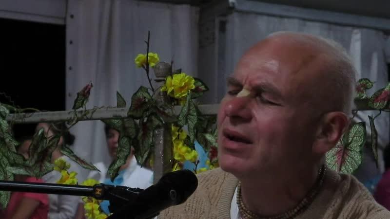 2018.09.15_Е.М. Ачьюта Прия пр_ Вечерний киртан_Бхакти Сангама_Коблево_Украина
