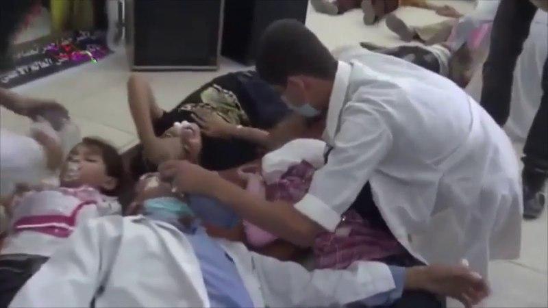 КАК СНИМАЛИ ФАЛЬШИВУЮ ХИМАТАКУ В СИРИИ