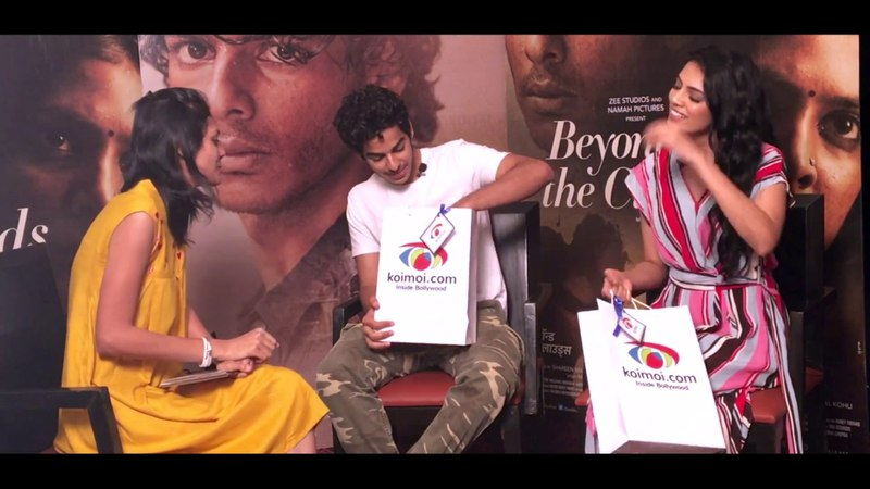 How Well Do You Know Bollywood Quiz With Ishaan Khatter Malavika Mohanan | Beyond The Clouds
