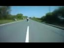 Жесткие аварии с участием мотоциклов.