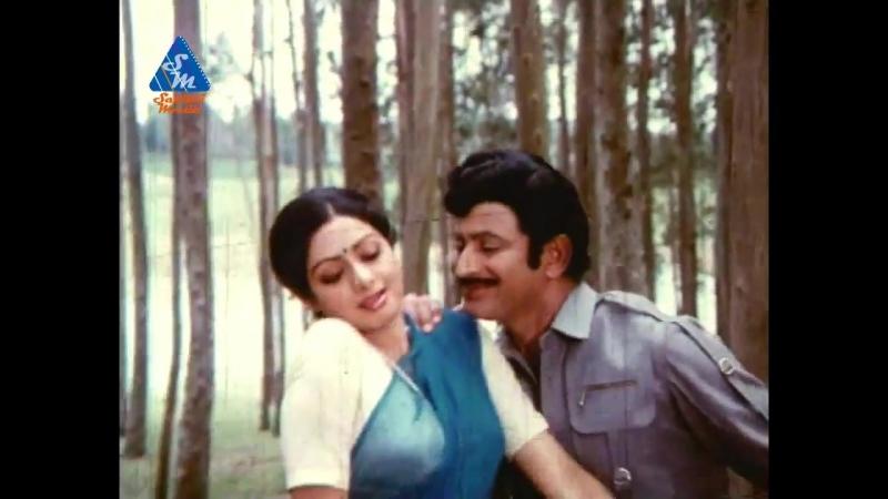 Krishna Sridevi Romantic Video Song - Jayam Manade Telugu Video Songs