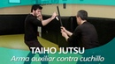 TAIHO JUTSU 13 sistema japonés defensa personal policial Técnica arma auxiliar contra cuchillo