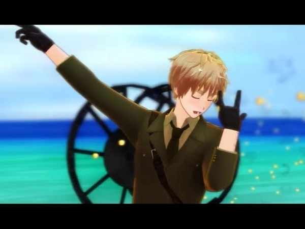 【APH MMD】IGGY IGGY★Burning Night【UK】Multi Lang Sub