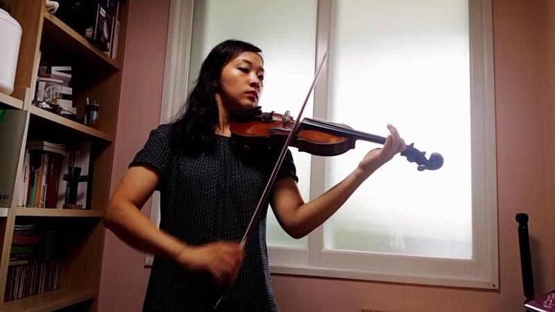 스즈키5협주곡 사단조1악장-비발디 Suzuki Violin 5 Concerto in g minor - 1st mvt.(A.Vivaldi) 바이올린 레슨 강사 김4